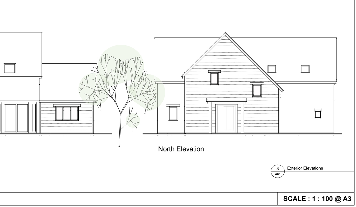 Sketchup architectural drawing for Sketchup design